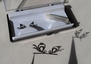 Silhouette eyelashes - seconds .... design 1