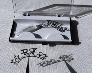 Silhouette eyelashes - seconds  .... design 5