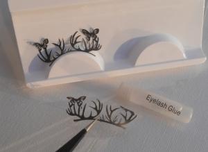 Silhouette eyelashes - seconds .... design 10