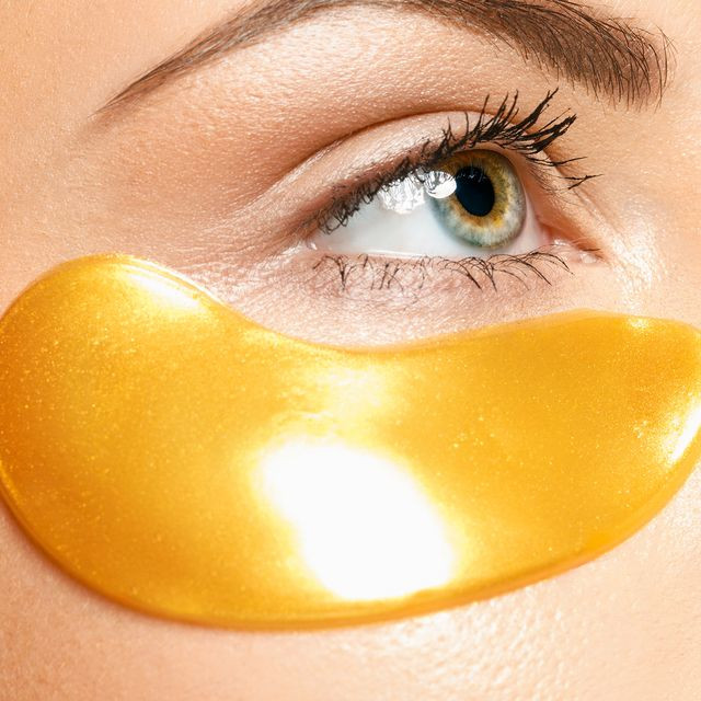 24K Gold Hydrogel Eye Patches, 5x2 pads
