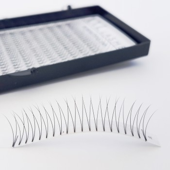 V-Lashes – 2D – 320 pieces without knots, soft and light