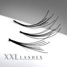 200 Flare Lashes in affordable refill bags in 8 mm