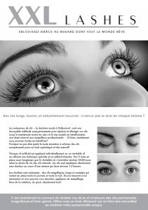 "100 pcs Promotion Flyer A5 - ""face"" - French"