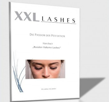 "XXL Lashes Training Manual ""Russian Volume Technique"", xD Eyelash Technique Training"
