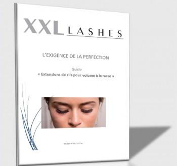"XXL Lashes Training Manual ""Russian Volume Technique"", xD Eyelash Technique Training French/pdf file"