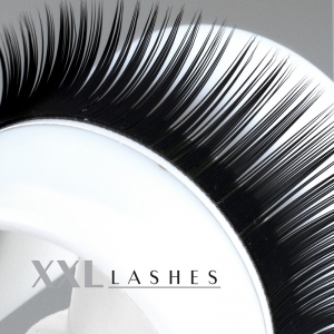 Mink Lashes - Silk Lashes | 0.15 mm thick | length 8—14 mm | C-Curl - (M15CM)