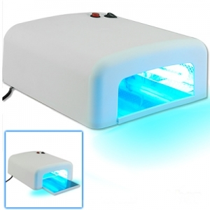 UV lamp, curing device, 36 W, incl. 4 twin tubes and timer