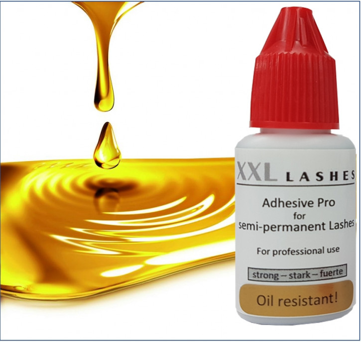 "XXL Lashes Adhesive ""Pro"" – oil resistant, waterproof, vegan"