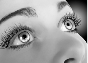 Poster-sized photo - these eyes will not go unnoticed