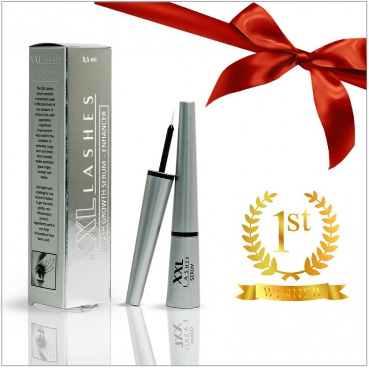 ❤️ Gift for you:    XXL Lashes  Serum for eyelash and eyebrow growth
