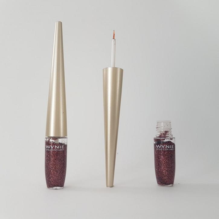Glitter Eyeliner for the festive shimmer make-up – copper