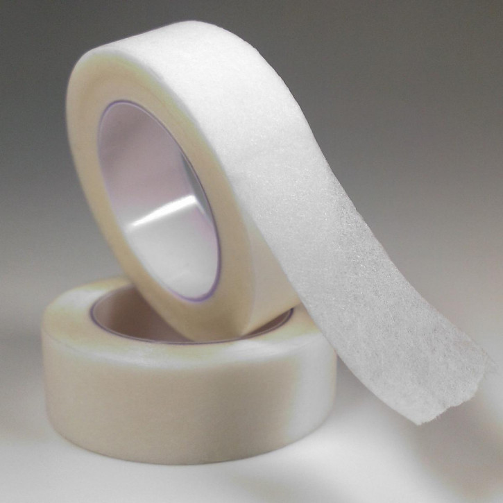 Micropore Tape to tape the lower eyelid - textile