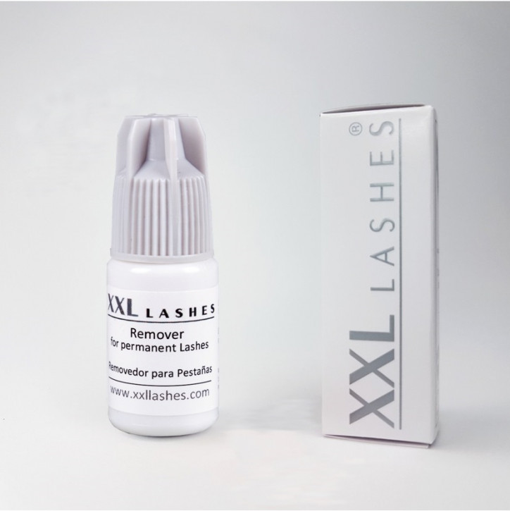 XXL Lashes Gel Remover for Eyelash Extensions / Debonder for lashes, gentle removal of extensions without dripping, 5 ml