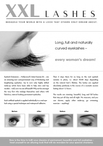 """100 pcs. Promotion Flyer A5 - """"eye"""""""