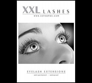 1 XXL Lashes Poster, A3 + A2 light