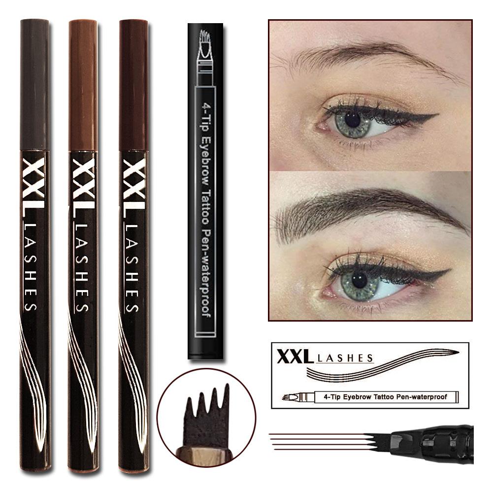 4 Tip Eyebrow Tattoo Pen