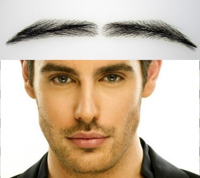 Eyebrow stickers for men, semi-permanent, bushy, handmade ...