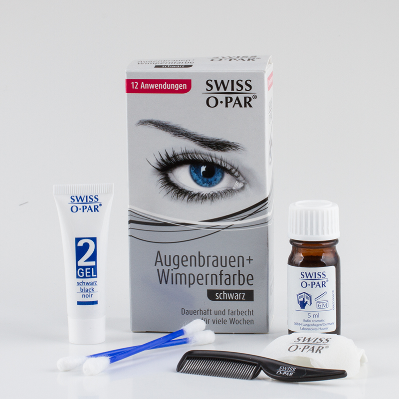 Eyelash and Eyebrow Colouring Kit