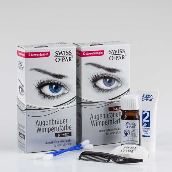 Eyelash and Eyebrow Colouring Kit