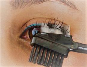 10 x eyelash combs with stainless steel teeth - [2nd range]