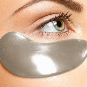 Charcoal Hydrogel Eye Patches, 5x2 pads