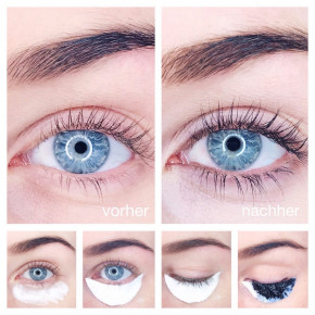 Eyebrow and eyelash dye 2.0 from Swiss o-Par, waterproof, colourfast