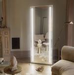 Glamcor FORTUNE & FAME Full Length Vanity LED Mirror