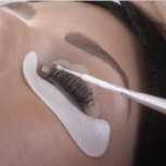 Eyelash lift silicon pads with convenient grooves to help guide the eyelashes, 10 pieces in S, M and L sizes, refill pack