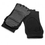 2 Pairs Non-slip yoga socks, open toe socks with anti-skid grip