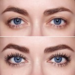 XXL Double Mascara, 2 stages with micro-fiber hair for most luxuriance and length - oilfree