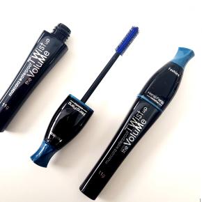 Blue mascara, waterproof, mascara to add volume and intense colour