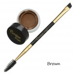 Semi Permanent Eyebrow DIP Pomade - in 4 colors - incl. double side brush