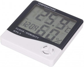 Digital Thermometer Hygrometer with LCD display, temperature and humidity measuring device