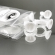 10 double chamber adhesive rings / pigment holder rings