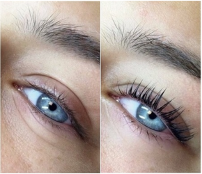 "10 eyelash/eyebrow lifting and eyelash perming sachets, perming and fixing gel from the XXL Lashes ""Super Lash Lift Kit"""