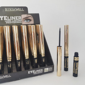 Stylo-Eyeliner, oil-free, water-based suited for eyelash extensions