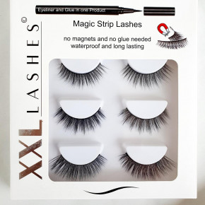 ❤ Magic Adhesive Eyeliner Pen Kit, combines both: eyeliner and eyelash glue in one product
