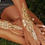 XXL Lashes Metallic Flash Tattoo