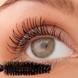Mascara at an absolute discount, waterproof with fine fibers for a lot of volume