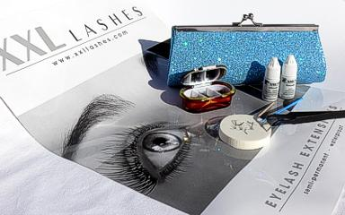 eyelash extension glamour kit