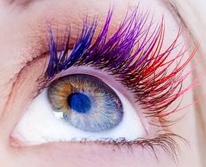 32c3428016e Our Rainbow Lashes are suitable for a range of wild looks. One can  therefore either share a few highlights, or create a new exciting  expression.